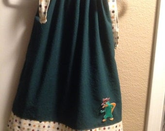 Perry the Platypus dress