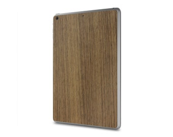 iPad Air / iPad Air 2 #WoodBack Real Wood Skin - Walnut (FREE and Fast Delivery)
