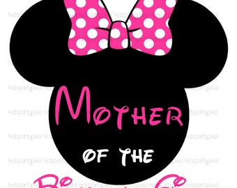 Minnie Mouse Iron On Tshirt shirt T ransfer - Mickey Mouse - Disney ...