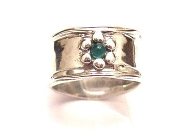 Sterling silver 925 Ring with AGATE