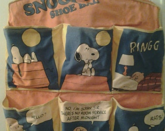 Snoopy Shoe Bag Hander