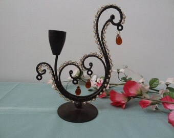 A Vintage Spanish Style Candle Holder