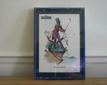 Martell - Norman Orr Golfing Print - Deemed Playable.