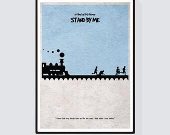 Stand by Me Minimalist Alternative Movie Print & Poster
