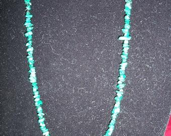 18 inch Semi precious Malchite necklace