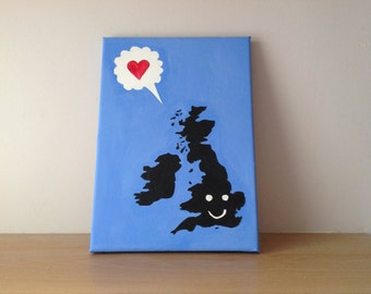I love the UK illustrative Art