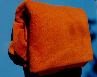 Pumkin Fleece Fabric