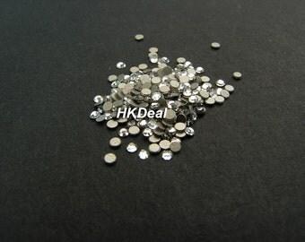 Swarovski Rhinestones for Nail ss3 Crystal Clear 1.4 mm Flatback Rhinestones Nail Art [144 pcs]