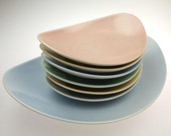 Shell bowl dip bowls 60s retro