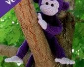 PDF CROCHET PATTERN - Monkey