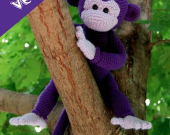 PDF CROCHET PATTERN - Monkey
