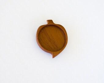 No laser fine finished hardwood bezel tray - Mahogany - 35 mm - (G2-M)