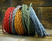 Vintage Cloth Braided Extension Cord by FosterWeld