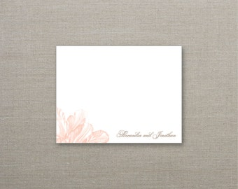 Tulip Personalized Note Cards - SET OF 25 Cards