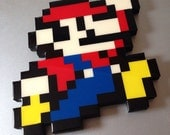 it's a me - super mario inpsired wall art