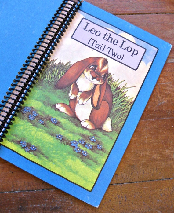 Recycled Book Journal: Serendipity Series Leo The Lop (Tail Two)