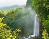 Falling Springs Falls Virginia Waterfall Photograph