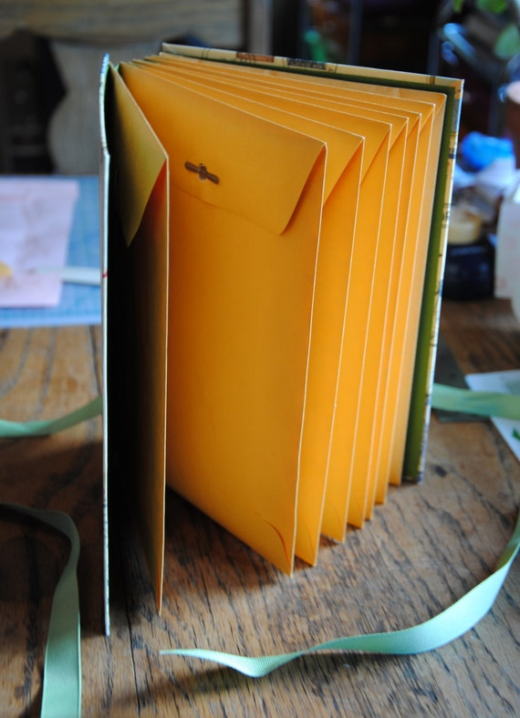 Diy envelope book instructions pdf for Creative ways to make a book for a project