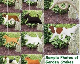 Dog Breed Garden Landscape Decor-Dog Breed Signs