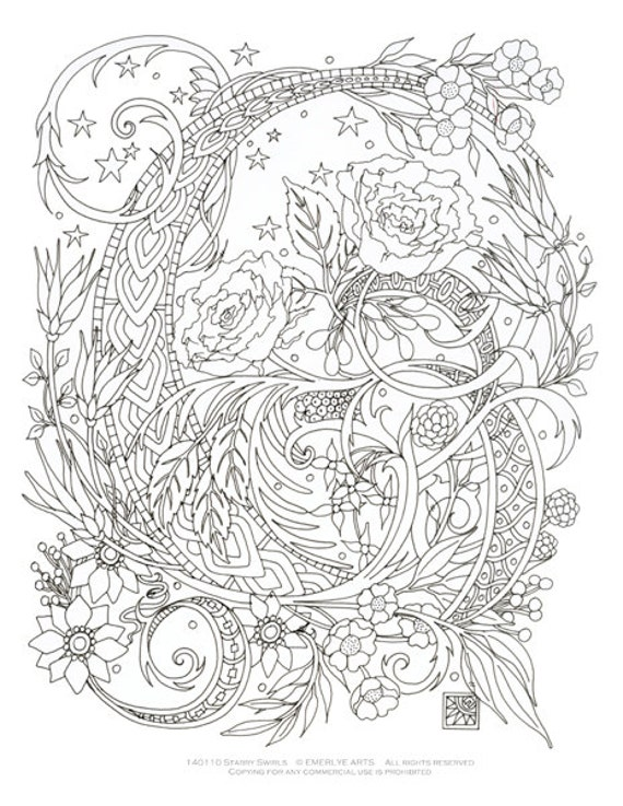 Items Similar To Printable Coloring Page