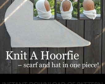 eBook - Knitting Pattern for The Hoorfie - INSTANT DOWNLOAD