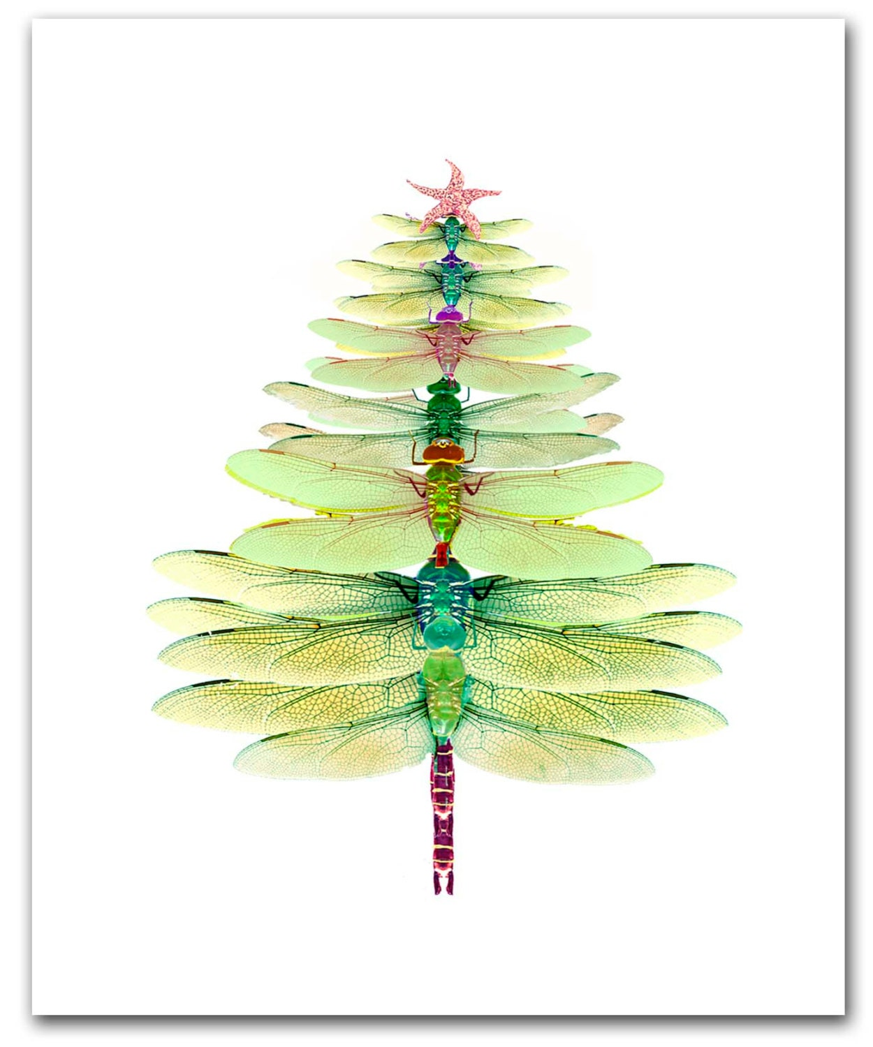 zoom - Christmas Tree Card