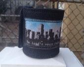 Fabric Cuff/Fabric Bracelet, The Lord's Voice Bible Cuff, Scripture Cuff, Ready to Ship