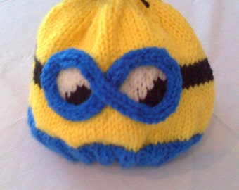 Two-Eye Minion Hat