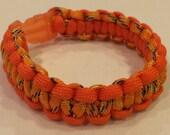 Orange Bracelet Paracord