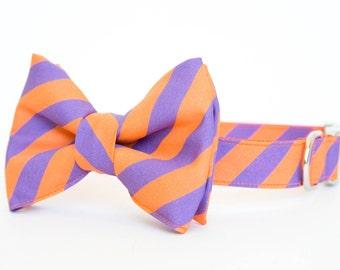 Clemson Tigers Bow Tie Dog Collar