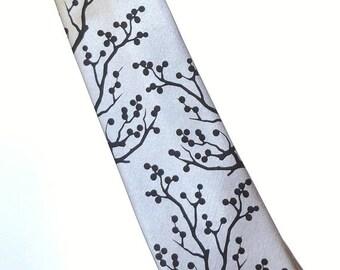 RokGear Necktie Winter berries design mens necktie - custom colors available