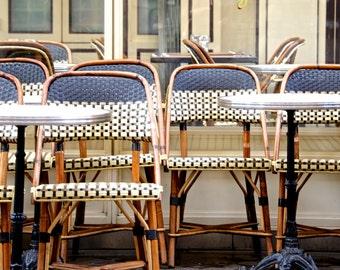 """SALE! Paris Photography, """"Dejeuner"""" Paris Print, Large Art Print Fine Art Photography, Affordable Art"""