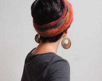 Handmade Multi-Colored Cowl, Neck Warmer, Ear Warmer, Headband , Wool Cowl, Winter Accessory , Warm Cozy Soft New York Cowl,  (591)