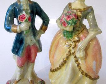 Vintage Bruno Capodimonte Figurine Porcelain Old Man