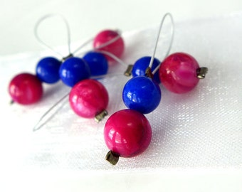 Rose Tyler - Doctor Who Companions Series - Five Snag Free Stitch Markers - Fits Up To 5.5 mm (9 US) - Limited Edition
