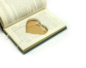 Heart Shaped Hollow Book Box - Tell Me How You Would Like It - Engagement Proposal Ring Holder Hearts Ribbon - CUSTOM ORDER