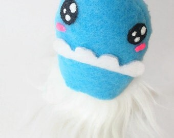 Kawaii FuzzyBum - Weird Plush Monster Small Stuffed Toy