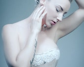 "22"" Pink Satin Modern Victorian Overbust Corset - Ooak, romantic, bridal, prom, victorian, costume"