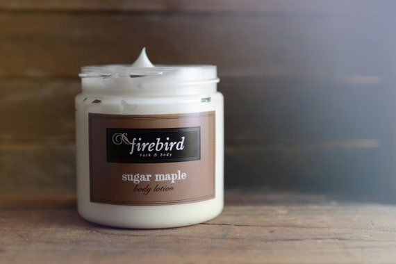Sugar Maple Body Lotion - Avocado and Shea Butter Lotion