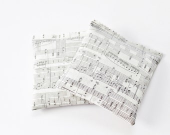 Music Note Lavender Sachets, Music Teacher Gift, Music Decor, Grey Home Decor, Music Lover Gifts