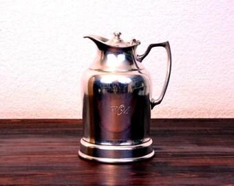 Vintage Wear-Brite Silver Plated Water Pitcher