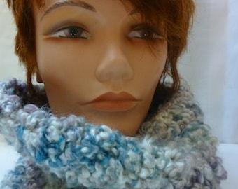 SALE Chunky Crocheted Cowl