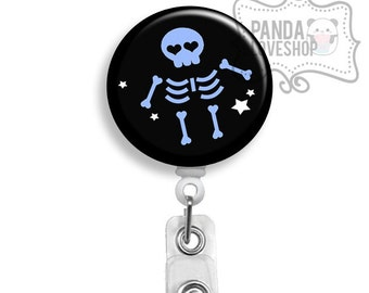 X-Ray Tech Badge Holder, Retractable Badge Reel, xray tech, rad tech, radiology tech, medical assistant