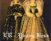Pattern and Instructions for Elizabeth R and Young Bess by Antonette Cely as pdf