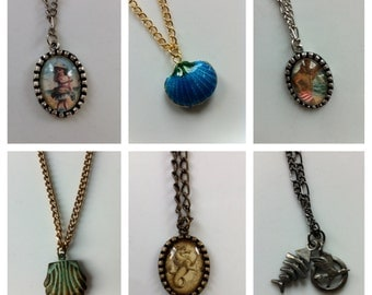 Sea Side Charm and Pendant - Necklaces