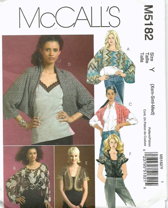 Popover Blouse Sewing Pattern 57