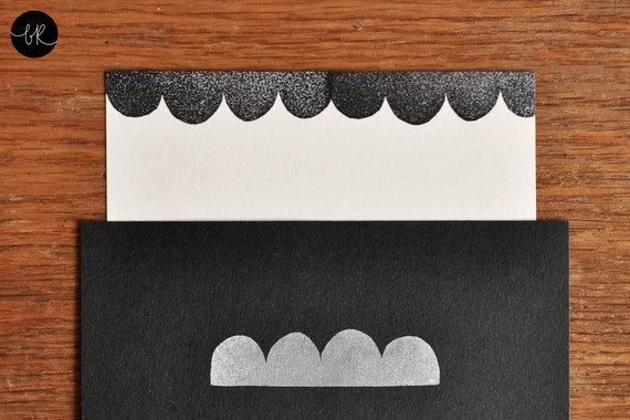 rubber stamp: scallop braid by bastisRIKE