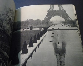 Vintage Book -  Paris - Photos Originals de Patrice Molinard - rare view of Paris in the 1940s - gift for lovers