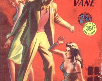 Vintage Paperback Digest, NIGHT HAUNTS of PARIS, 1951