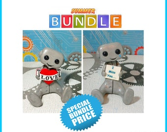 Long Distance Love Robot Bundle